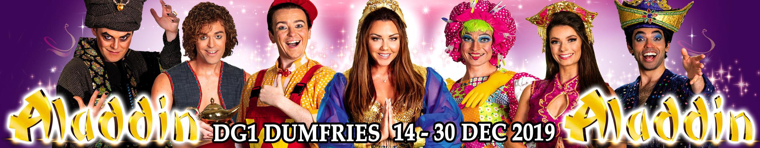 Aladdin Pantomine DG1 Dumfries